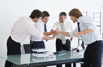 Team building exercises motivate a sales staff.