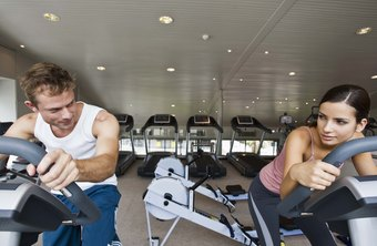 Bring a friend to the gym to keep you motivated during your biking or elliptical workout.