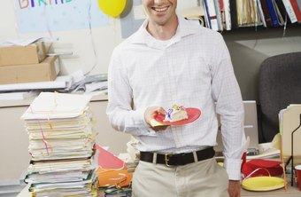 Remembering employees' birthdays is a fun morale booster.