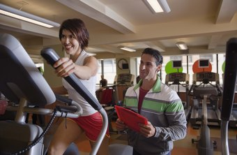 An elliptical machine helps tighten and tone problem areas.