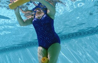 Exercising in water is a non-weight-bearing activity.
