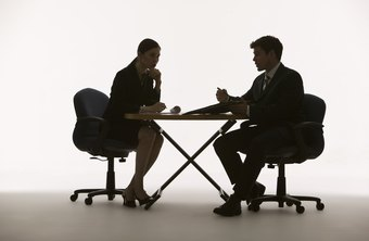 A job interview can present a challenge for a person with Asperger's.