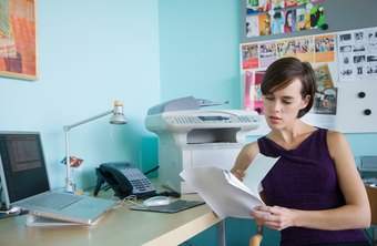 A multifunction fax, or all-in-one printer and fax modem, can add fax to your home office.