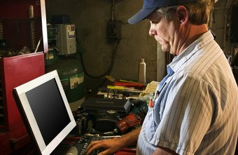 Small businesses such as mechanics can use POS systems to track inventory.