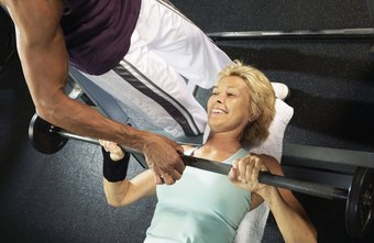 The bench press is one common exercise you can do on the bench.