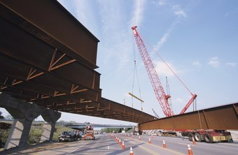 Highway construction companies are major employers of civil engineers.