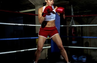 Most boxers use an orthodox stance with their left foot forward.