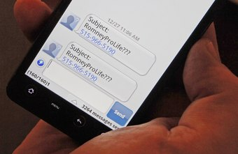 How to Send Outlook to SMS | Chron com