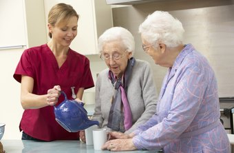 CNAs work in patient homes through agencies or independently.