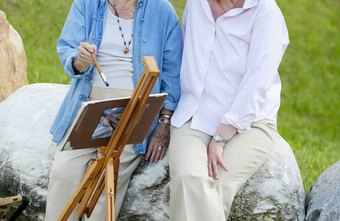 Many seniors enjoy living at home with a qualified caregiver.