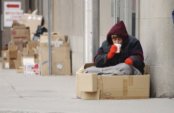 The conditions in which homeless people live can make it difficult to prepare for an interview.