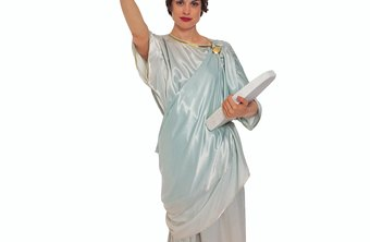 A Statue of Liberty costume draws attention to your business.