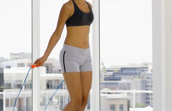 Jumping rope can help you stay slim.