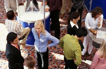 Visit employers' booths at job fairs to increase your chances for an on-the-spot interview.