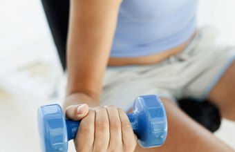 Use dumbbells to strengthen your elbows.