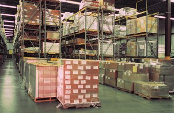 Use photos of a warehouse or storage facility to explain how much product is available.