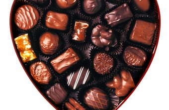 Chocolate treats come in many flavors and shapes.