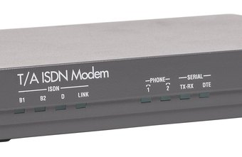 External modems are available from a variety of manufacturers.