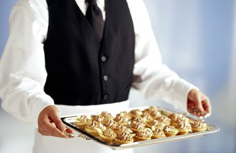 Caterers incur costs for food and labor.