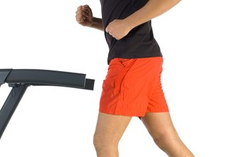 The hamstrings are at work during various phases of walking.