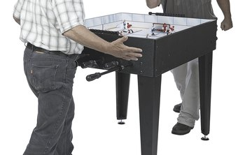 Playing actual games at work can diffuse some of the stress of a competitive work environment.
