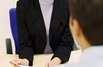 Job interviewers look for professionalism and well-constructed answers.
