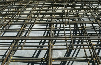 Rebar is used to reinforce concrete structures.