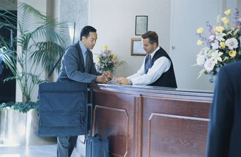 Front desk employees must provide a high level of customer service.