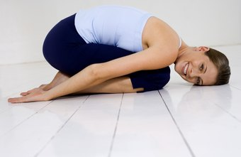 Child's pose is a calming and restful yoga asana.
