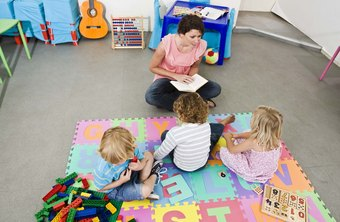 Preschool teachers often work in an environment that combines play and instruction.