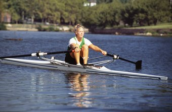 Rowing on water tends to be a more vigorous workout than rowing on an indoor
