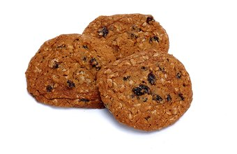 Eat oatmeal raisin cookies in moderation; they may contain more sugar than you expect.