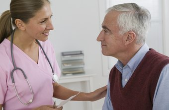 A certified nursing assistant often works with elderly patients.