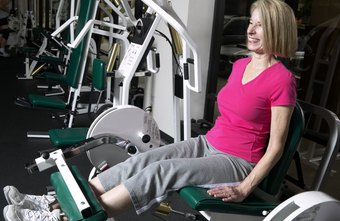 Seated leg extensions allow you to work both legs together.