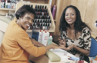 Many cosmetologists offers manicures to their clients.