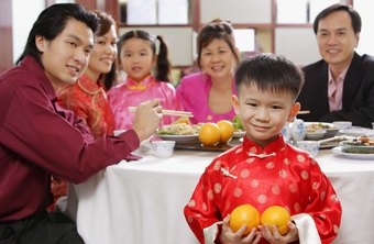 Oranges are a symbol of the Chinese New Year.