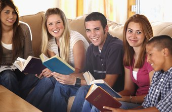 Youth ministers commonly lead regular meetings of church teens.