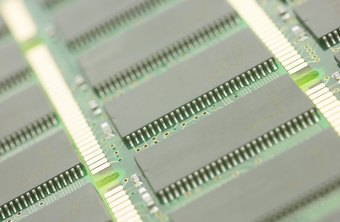 Data for RAM is stored temporarily on black chips soldered to the RAM board.