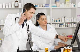 Pharmacists supervise pharmacy technicians.