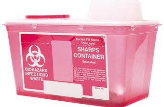 Proper biohazard disposal is an essential part of medical office safety.