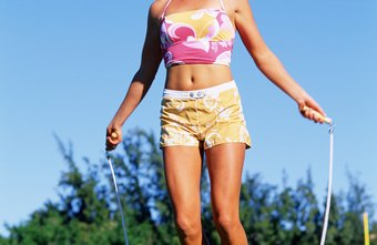 Jumping rope is a simple way to burn calories daily.