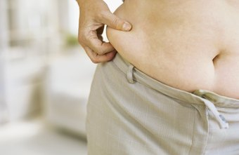 Healthy lifestyle changes can reduce abdominal fat.