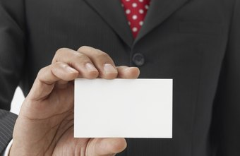 Business cards help real estate agents promote their services.