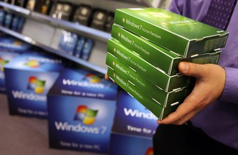 The Windows 7 OEM version is different from the retail version you buy from a typical consumer retail store.