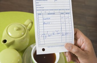 Handwritten invoices are especially likely to contain errors.