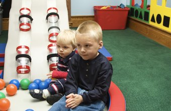 Child activity centers require large areas for movement and play.