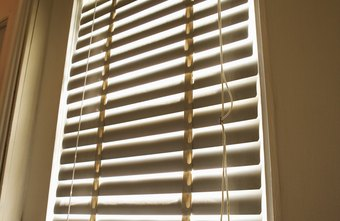 Vertical Blinds Require Blackout Fabric To Prevent Light Coming Through