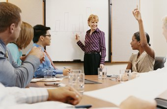 Employee training may take place in the office or in a classroom.