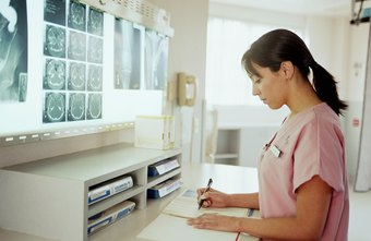 Radiology nurses administer exams and help doctors analyze X-rays.