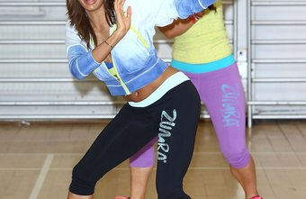 Zumba combines moves from Latin dance and high-impact aerobics.